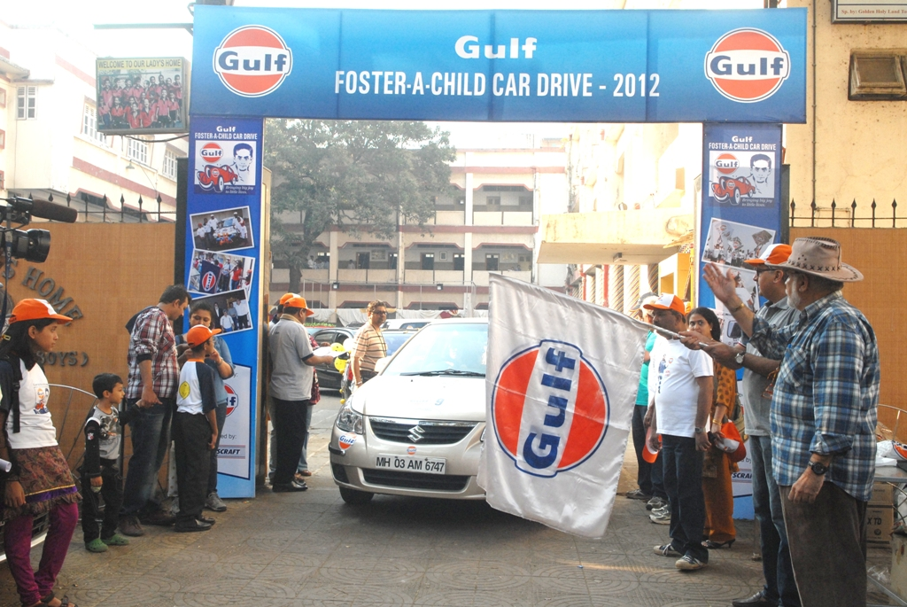 Gulf Foster a Child Car Drive