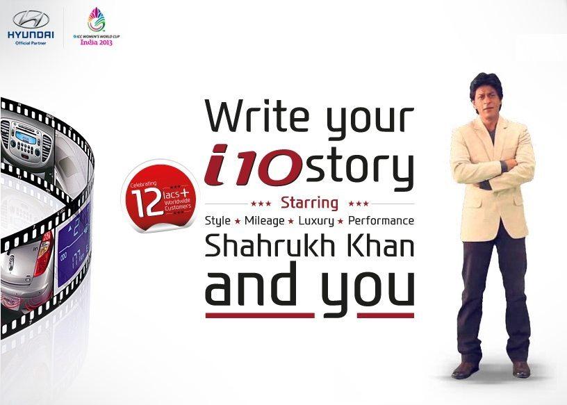 Hyundai i10 Shah Rukh Khan