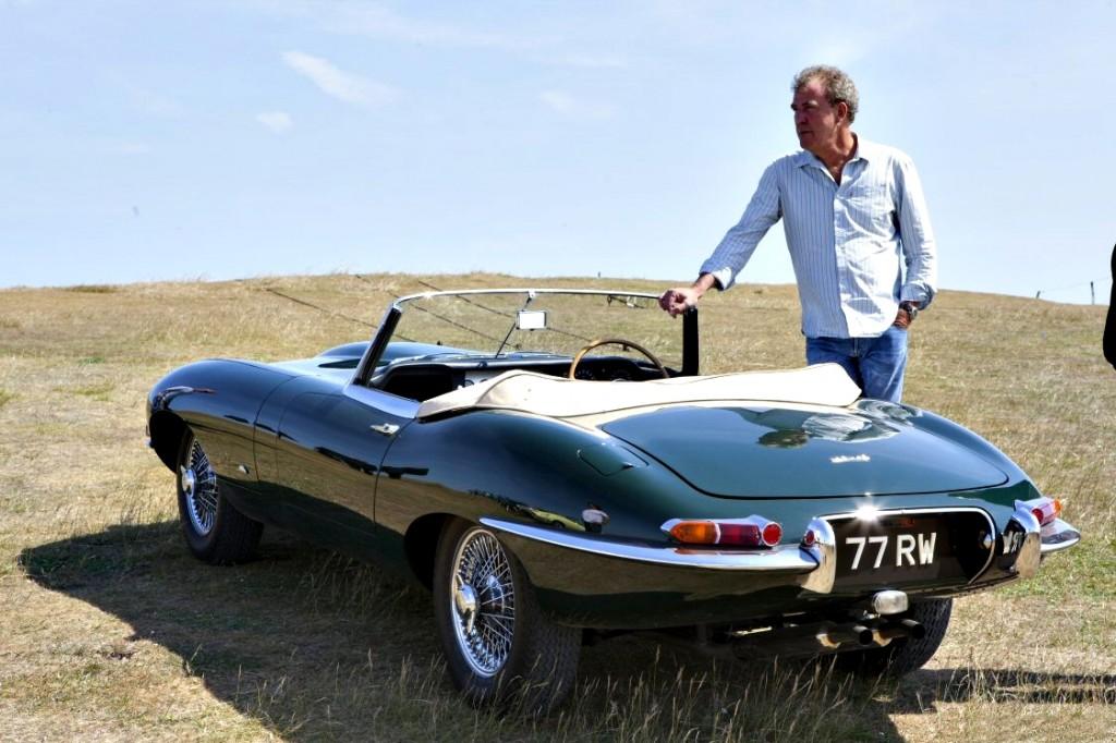 Jaguar E Type Jeremy Clarkson