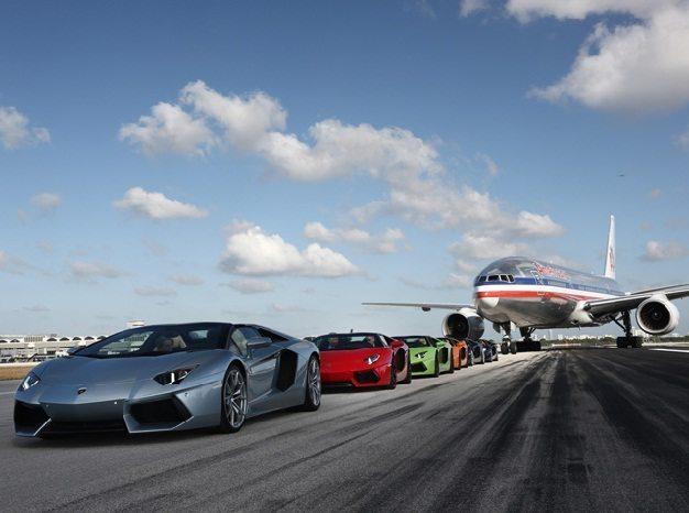 Lamborghini Aventador Miami 1