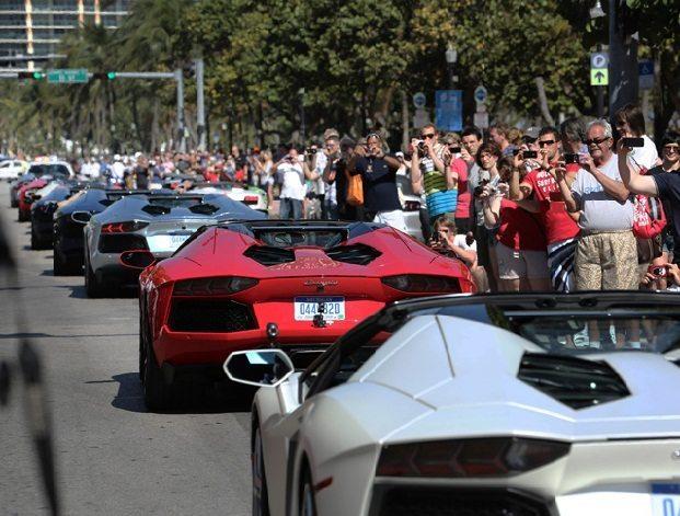 Lamborghini Aventador Miami 2
