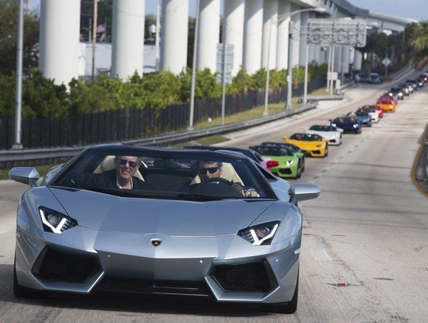 Lamborghini Aventador Miami 23