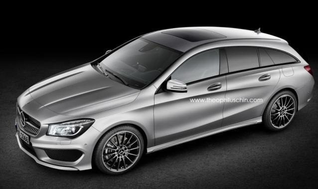 Mercedes CLA Shooting Brake Release Date