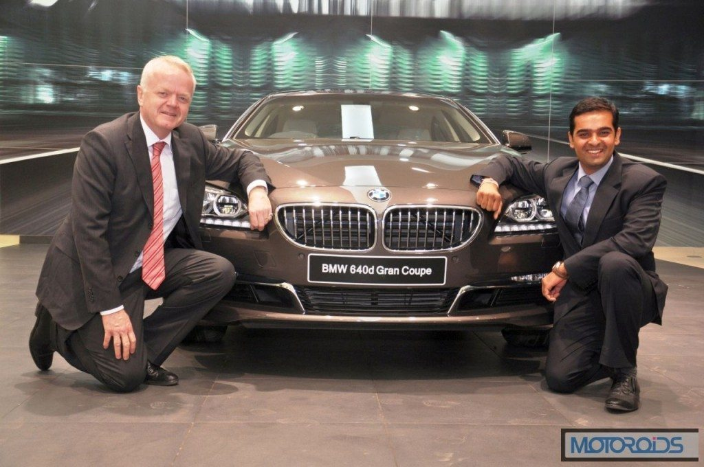 Mr. Philipp von Sahr President BMW Group India with Mr. Prashant Mandhan...