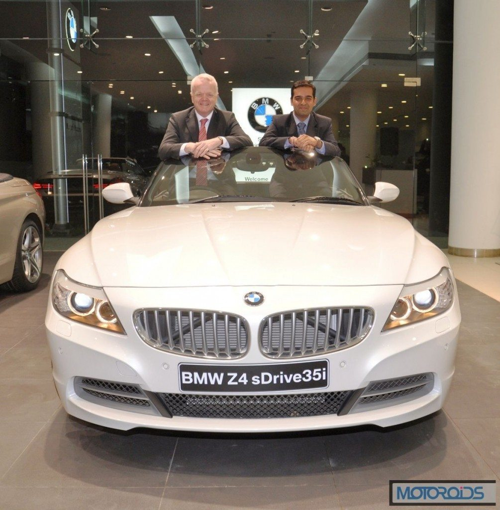 Mr. Philipp von Sahr President BMW Group India with Mr. Prashant Mandhan..._1