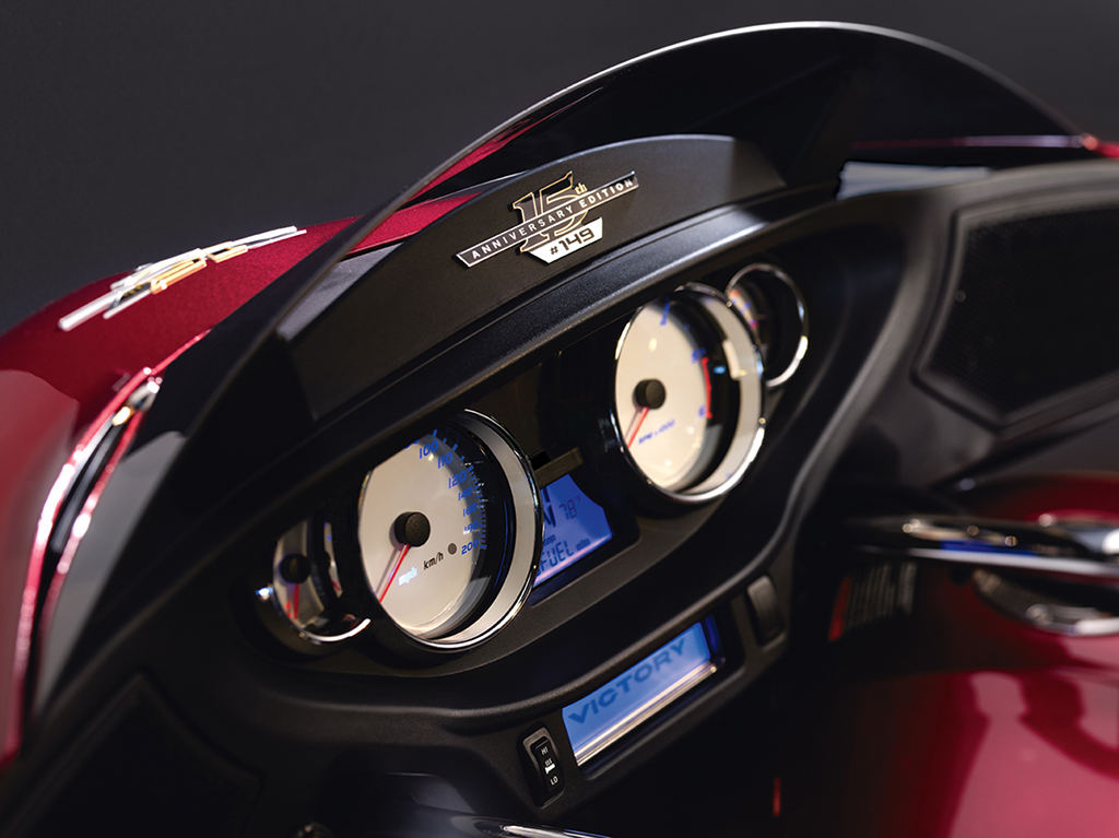 Victory Motorcycle 15th Anniversary Special Edition 2