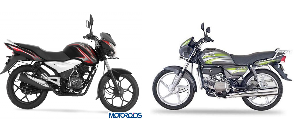 hero splendor vs bajaj discover 100 t