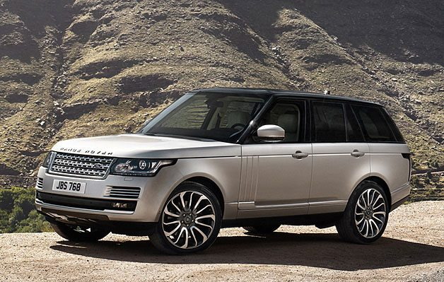 2013 range rover awards