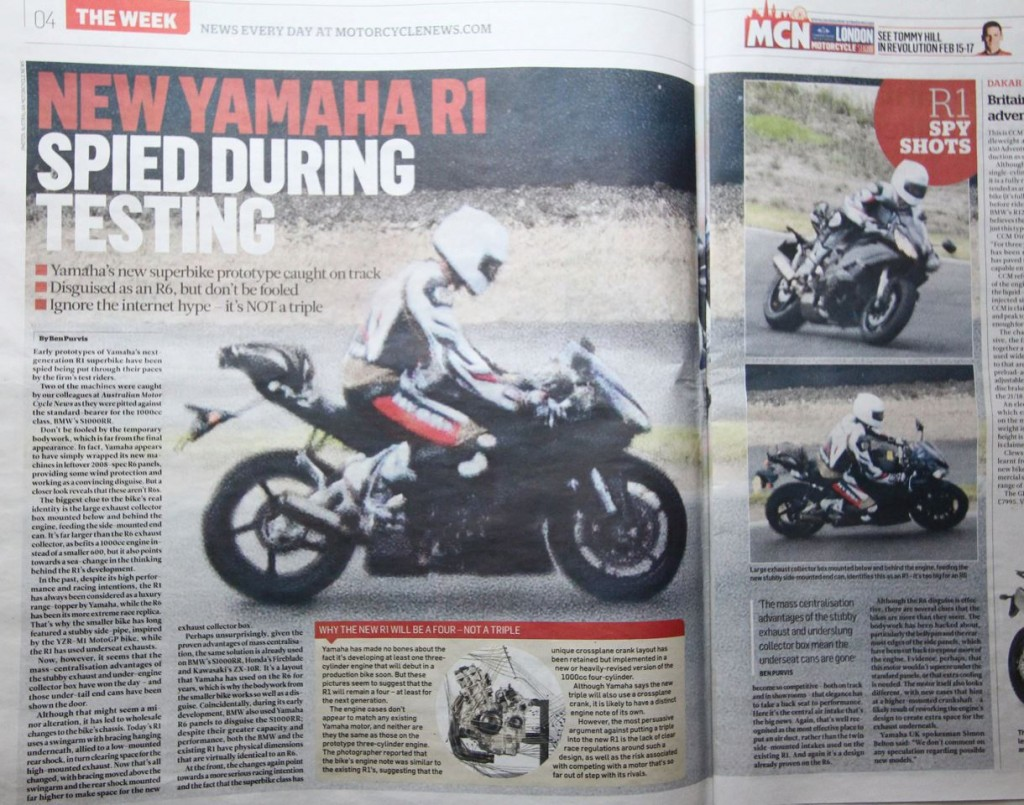 2014 Yamaha YZF-R1-2