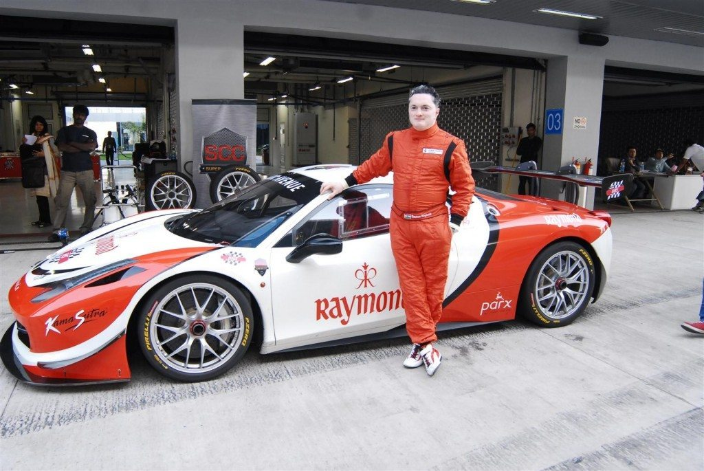 Gautam Singhania Ferrari 458 Challenge