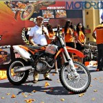 Second Mumbai KTM Orange Day concludes. The KTM 350 SXF unveiled. To grace Probiking showrooms with the RC8