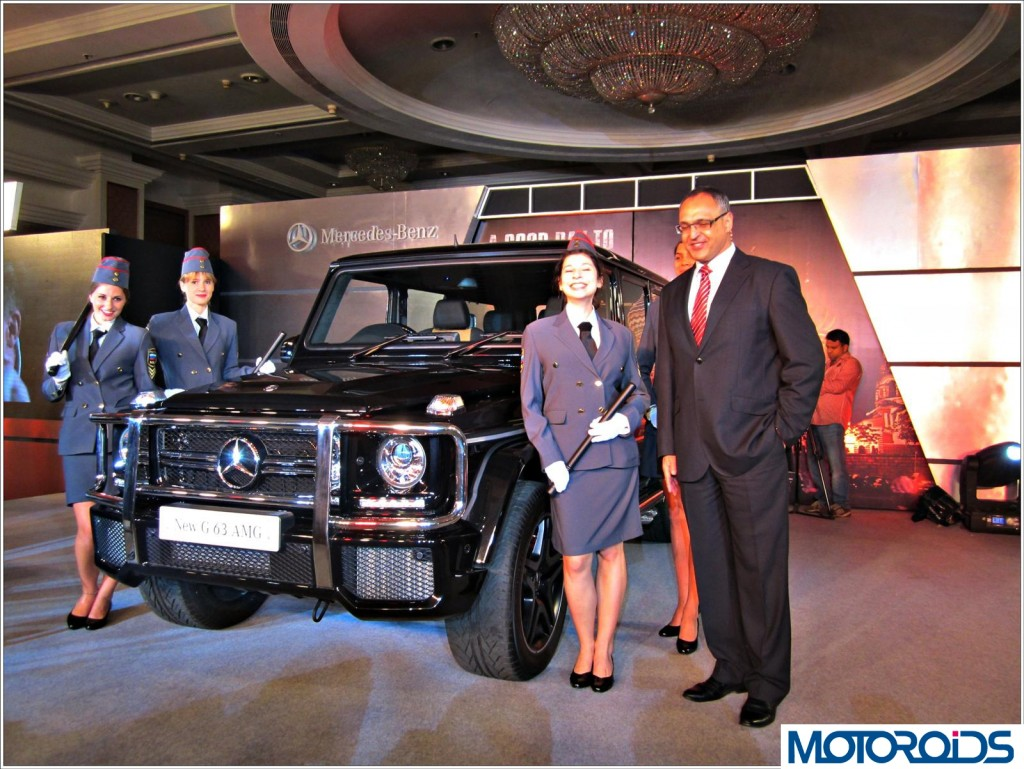 Mercedes G63 AMG India Launch (12)