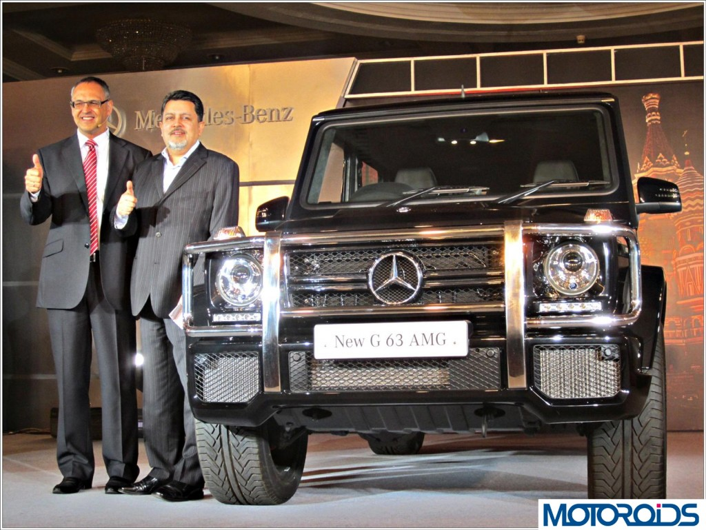 Mercedes G63 AMG India Launch (8)