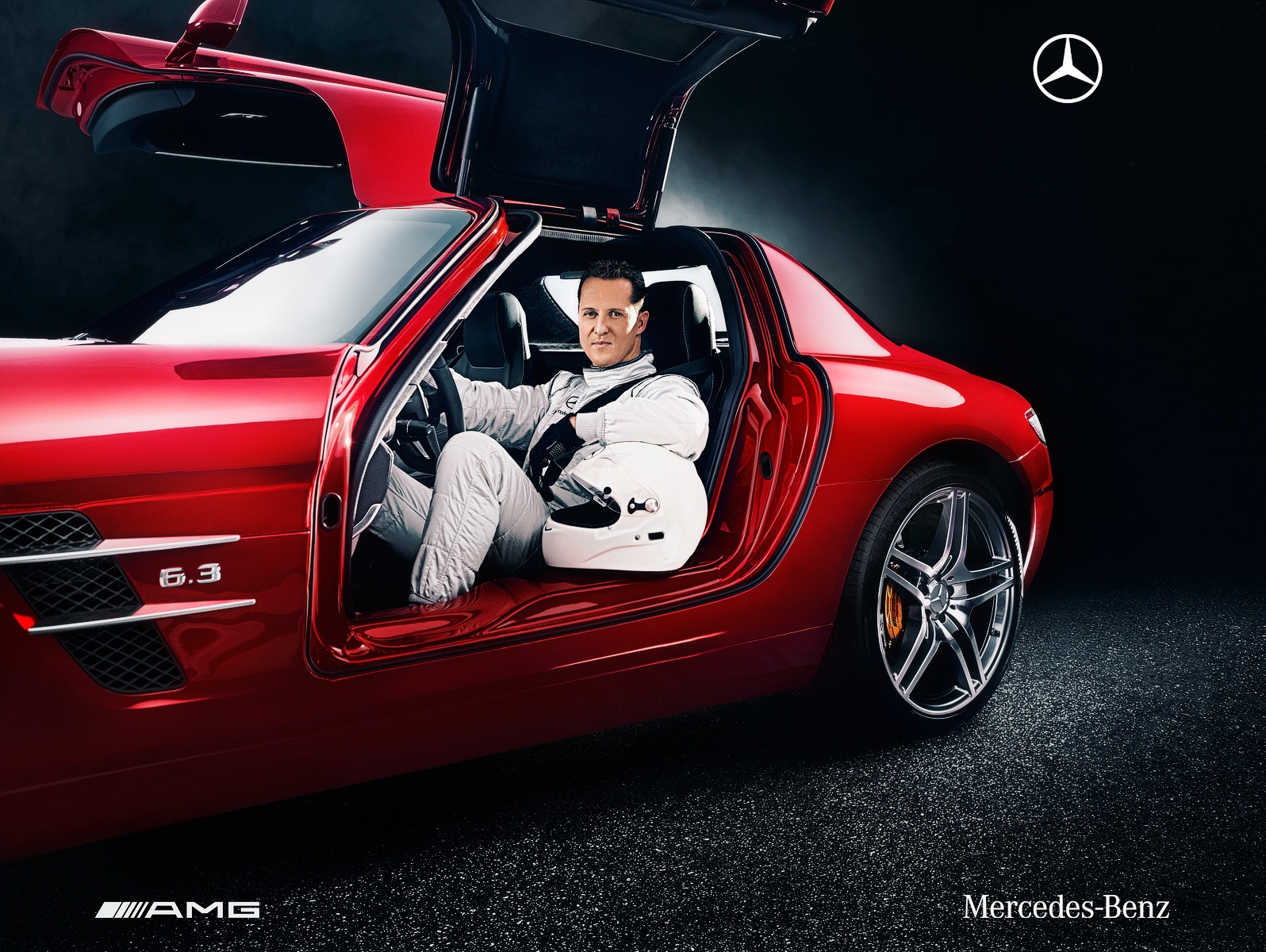 michael schumacher to help develop mercedes benz road cars