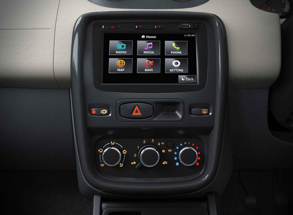 Renault Duster Media NAV System