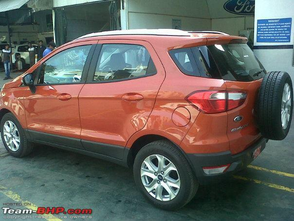 ford ecosport india launch