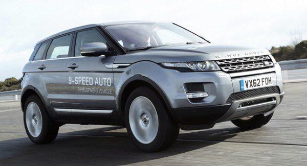 land rover evoque nine speed transmission 1