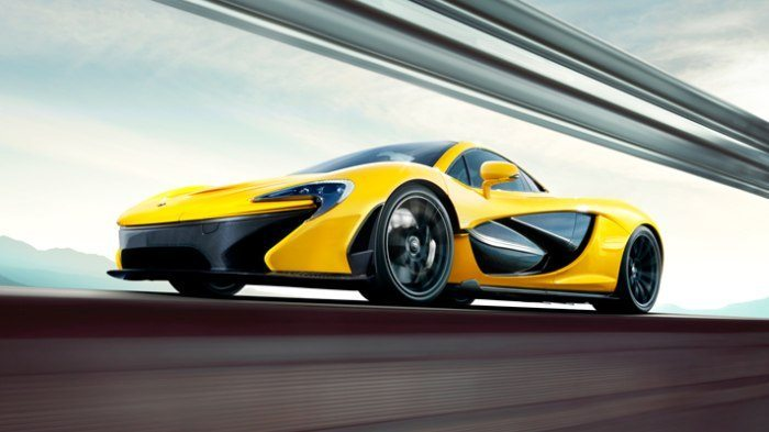 mclaren p1 top speed