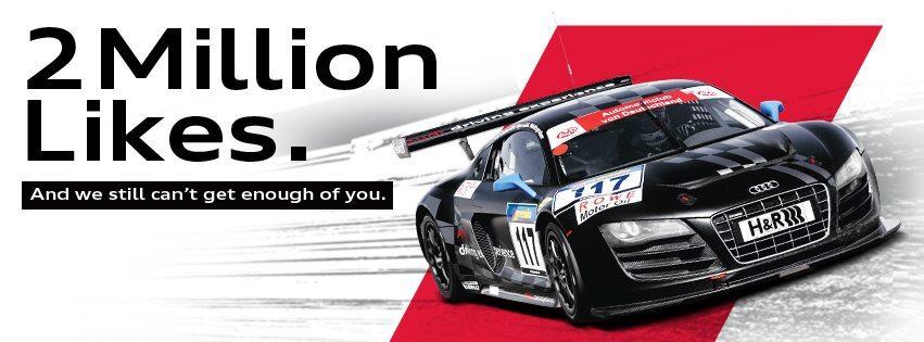 20,00,000+ fans like 'Audi India'_Image