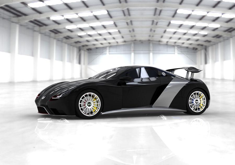 2013 Weber F1 hypercar