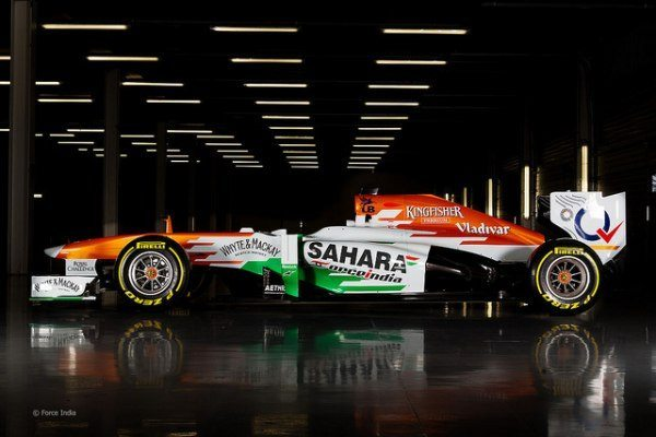 2013 sahara force india f1