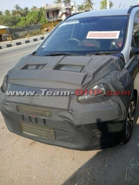 2014 Hyundai i10 aka Brilliant Spotted Testing on NH4