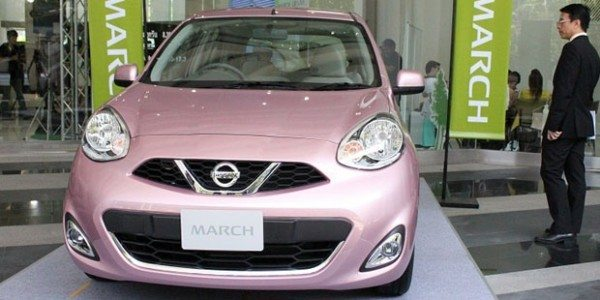2014 Nissan Micra facelift 1
