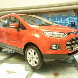 Image Gallery: Production spec Ford EcoSport at New Delhi