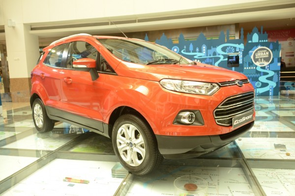 Ford EcoSport India Launch 1
