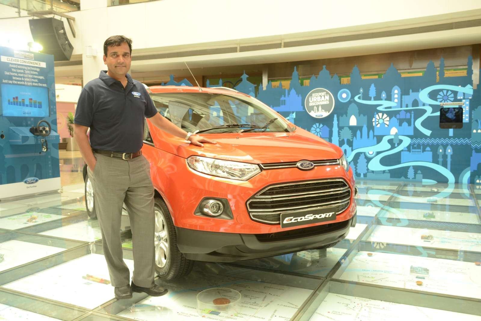 Ford EcoSport India Launch 3