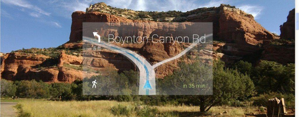 Google Glass GPS Navigation