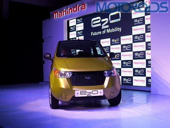 Reva E2O at the Launch event
