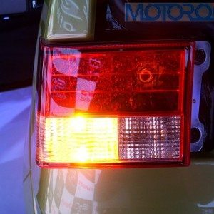 The tail lights get LED treatment