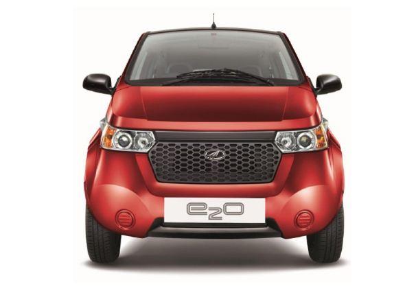 Mahindra Reva e2o India launch (1)
