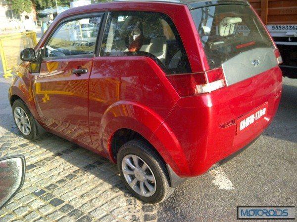 Mahindra Reva e2o India launch (4)