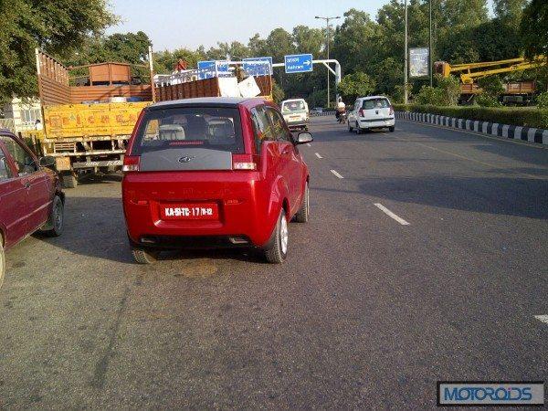 Mahindra Reva e2o India launch