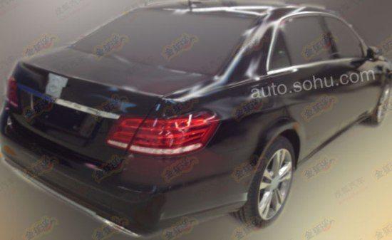 Mercedes Benz E Class facelift lwb 1
