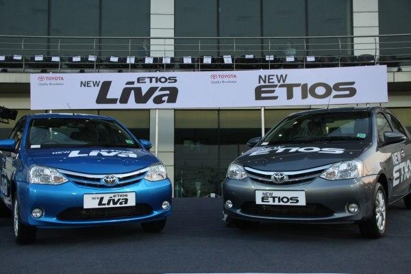 New Toyota Etios & Etios Liva favelift