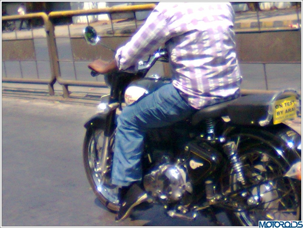 Royal Enfield Classic 500 spy pic-3