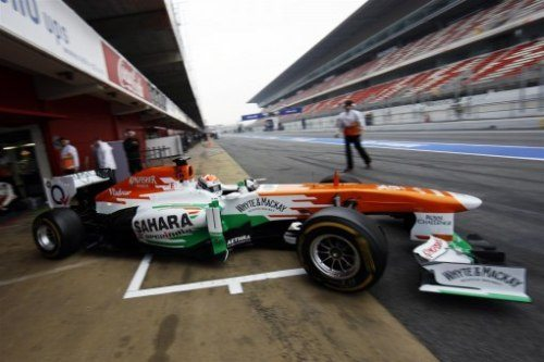 Sahara Force India Barcelona Test Report
