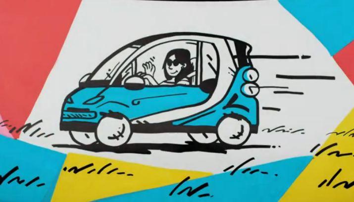Smart car video