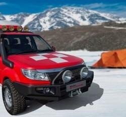 Tata Safari Storme Mountain Rescue Showcased at Geneva