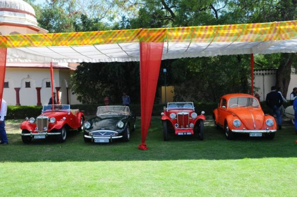Vintage cars on display at 15th Vintage and Classic Car Rally