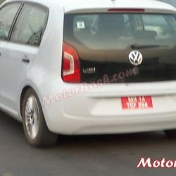 Video & Pics: Volkswagen Up! Testing on Indian roads