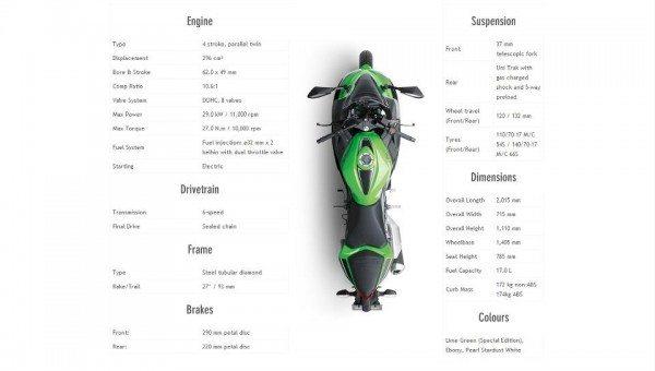2013 Kawasaki Ninja 300R India Launch 1