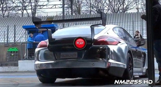 2013 Petri Corse Motorsport Porsche Panamera