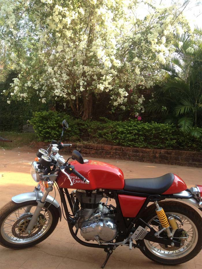 2013 Royal Enfield Continental GT 535 1