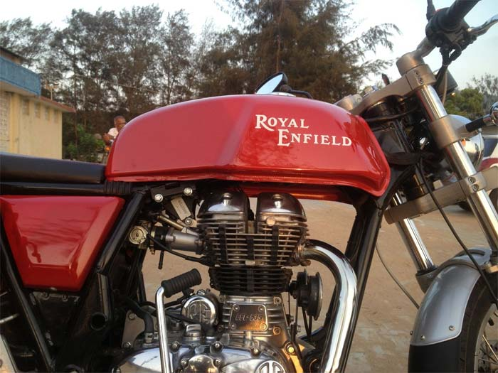 2013 Royal Enfield Continental GT 535 2