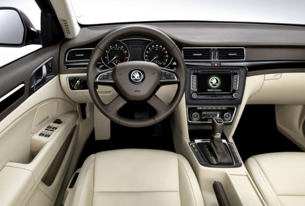 2014 Skoda Superb Facelift 1