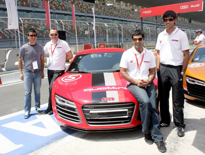 Aud India R8 V10 Plus launch